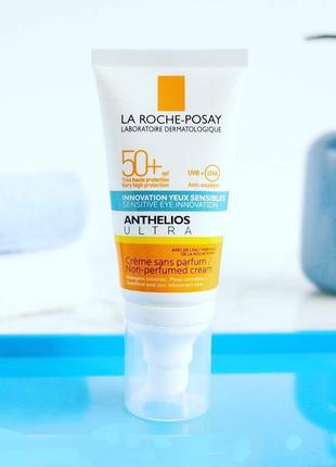 La roche posay anthelios xl ультра крем 50+ солнцезащитный увлажняющий крем для лица