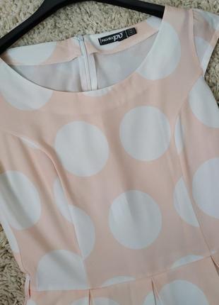 Плаття в горошок4 фото