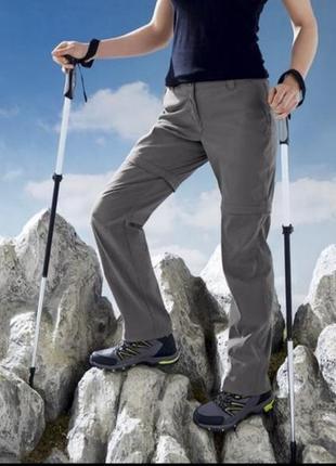 Треккинговые брюки трансформеры большого размера 54 crivit германия