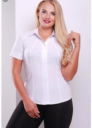 Белая женская рубашка большого размера # sale # bhs