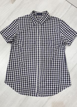 Рубашка 100% хлопок burberry