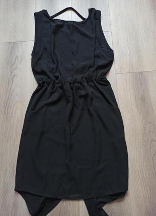 Платье zara с открытой спиной