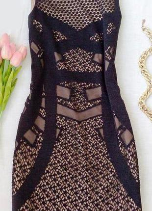 Красивое кружевное платье zara