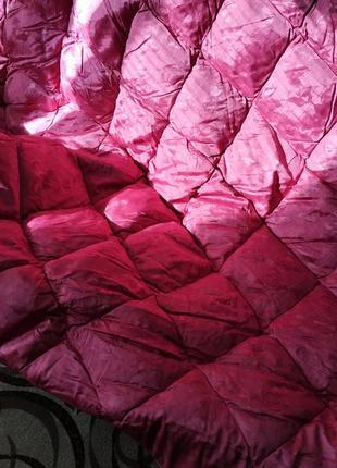 Одеяло пух-перо стёганое