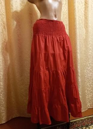 Хлопковая юбка!