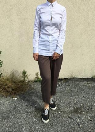 Рубашка белая2 фото