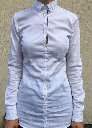 Рубашка белая5 фото