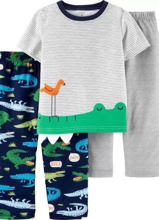 Комплект пижама мальчику 3 4 5 лет от carter's