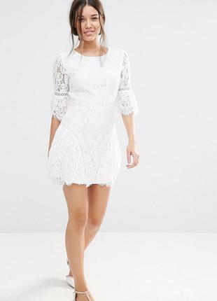Торг 🌞!платье асос белое кружевное asos   англия