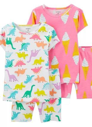 Пижама для девочки 4 лет от carter's