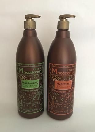 Кондиціонер та шампунь kleral system macadamia (100 ml. на розлив)