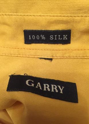 Стильна рубашка шёлк 100% garry5 фото