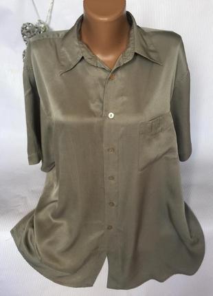 Стильная рубашка  шёлк 100%garry1 фото