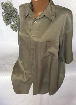 Стильная рубашка  шёлк 100%garry3 фото