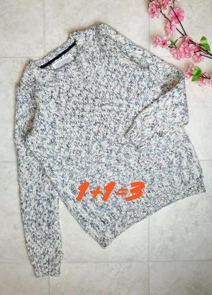 1+1=3 крутой плотный тёплый свитер mantaray, размер 46 - 48