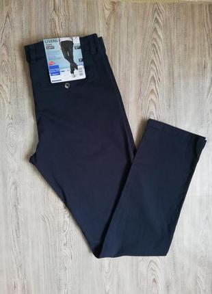 Мужские хлопковые штаны брюки чиносы livergy