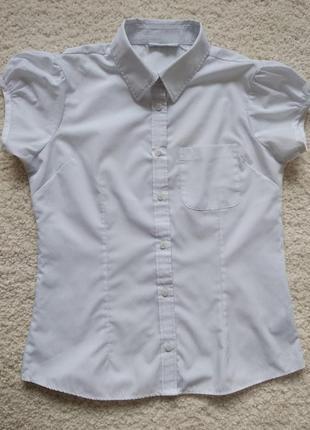 Сорочка шкільна next 13 років 158 см, блузка