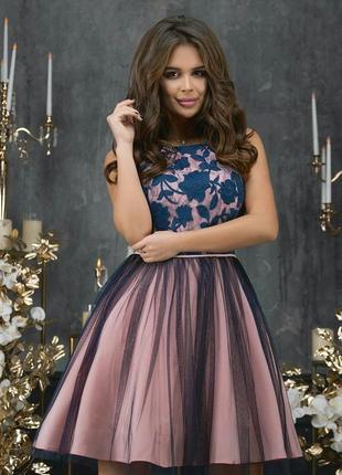 Шикарное праздничное платье, вечернее