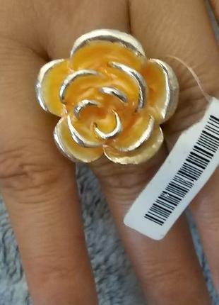 Оригинальное солнечное кольцо в форме розы от miss tic