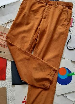Шикарные вельветовые брюки marks&spencer