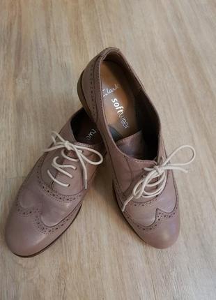 Шкіряні туфлі 39,5 розмір
