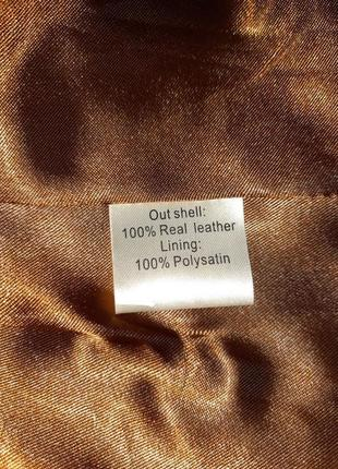 🎁1+1=3 кожаная куртка косуха натуральная кожа oxzone под питона, размер 44 - 4610 фото