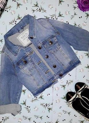 🎁1+1=3 фирменная женская джинсовая куртка джинсовка denim co оригинал, размер 42 - 442 фото