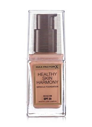 Тональная основа max factor healthy skin harmony foundation