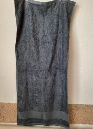Полотенце махровое miomare® 50х100см, антрацит