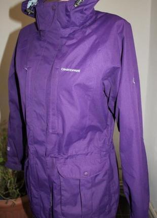 Лучшая куртка для путишестивий парка термокуртка удлиненная craghoppers 12 uk наш 44-46