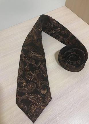Мужской галстук giorgio armani ( армани)