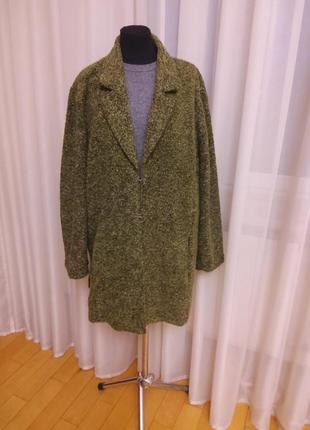 Пиджак куртка  пальтобольшой размер  chalou  раз.54-58
