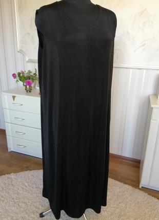 Базовое платье большого размера 30uk, наш 62-64, супер стрейч.