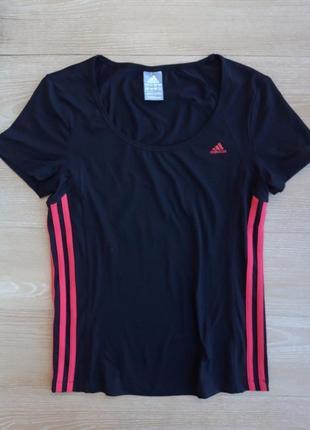 Женская спортивная футболка adidas climalite . оригинал