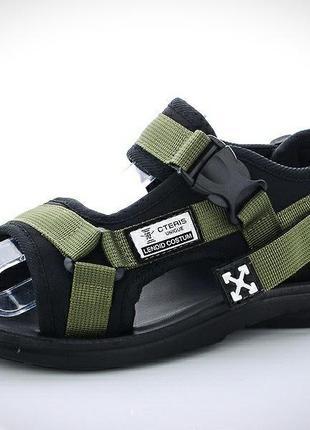 Стиль off-whіте сандали для парней на лето.