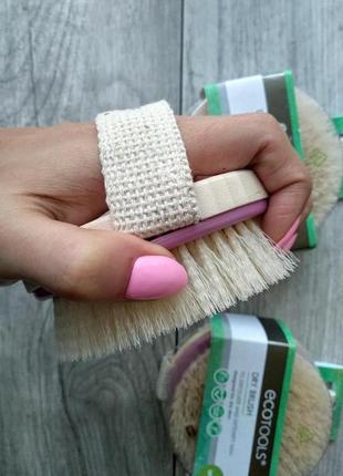 Ecotools dry brush, щётка для сухого массажа, в наличии!!!