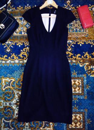 Чорне стильне плаття