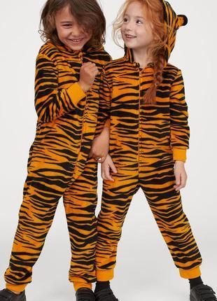 Костюм тигра h&m америка 6-8 лет 122-128 см девочке или мальчику