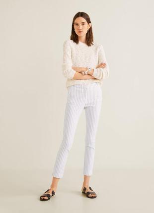 Новые женские белые брюки штаны mango 38 размер