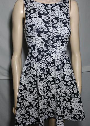 Цветочное ромашки красивое женственное романтичное платье