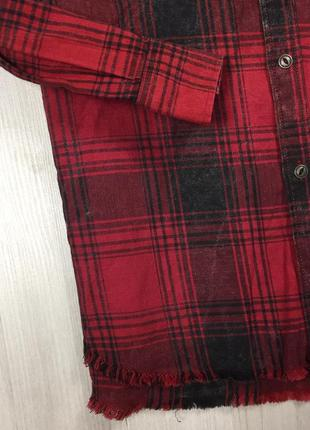 Z6 рубашка приталенная zara man зара4 фото
