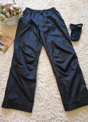 Мега крутые спортивные брюки с чехлом, унисекс, большого размера 58-60 на высокий рост.1 фото
