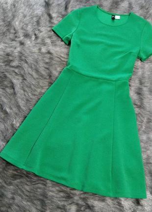 Sale платье с отрезной талией h&m