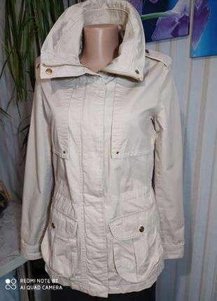 Фирменная новая куртка парка котон