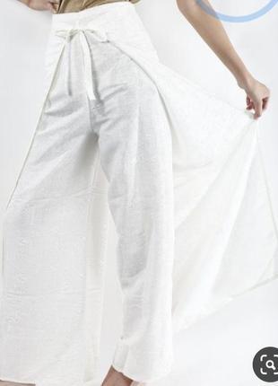 Штаны-юбка в стиле бохо