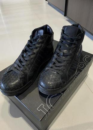 Кеды слипоны ботинки bikkembergs