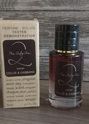 Dolce & gabbana the only one 2 tester lux, женский, 60 мл