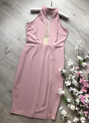 Красивое вечернее платье с открытой спиной,