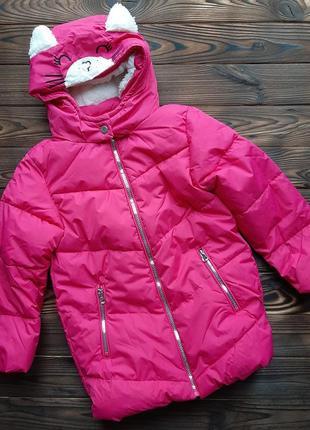 Удлиненная куртка пальто для девочки kiki&koko