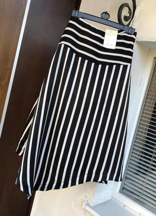 Новая ассиметричная юбка миди спідниця міді италия calliope
